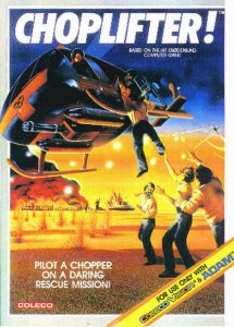 Choplifter! per ColecoVision
