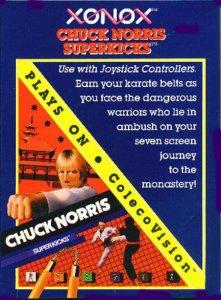 Chuck Norris Superkicks per ColecoVision