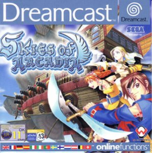 Skies of Arcadia per Dreamcast