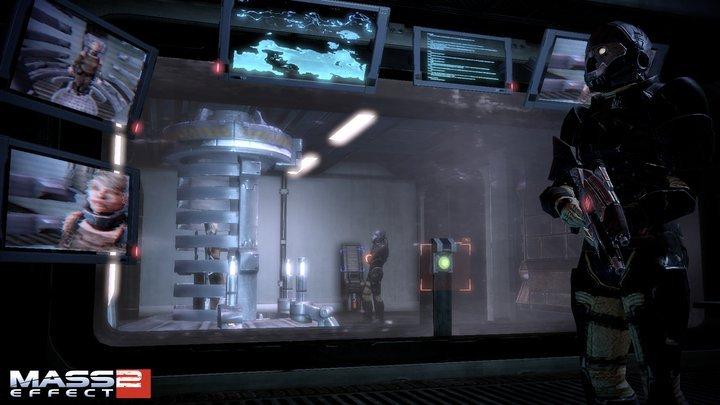 Prima immagine da Arrival di Mass Effect 2