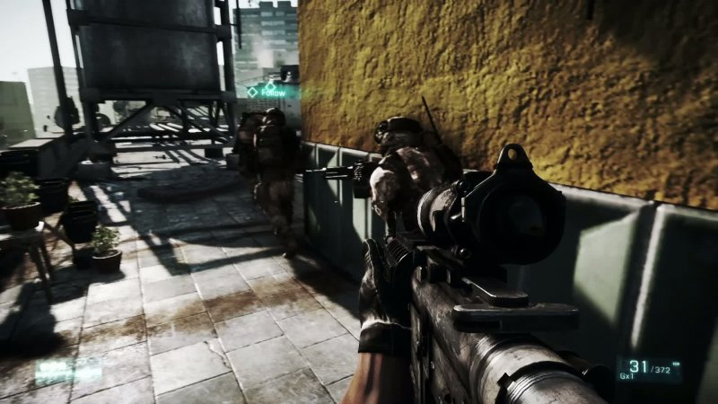 Move e 3D in Battlefield 3 per PS3