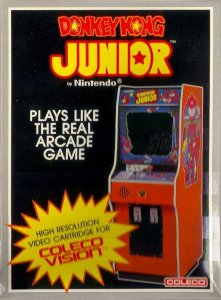 Donkey Kong Junior per ColecoVision
