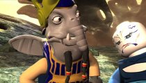 Lego Star Wars III: La Guerra dei Cloni - Yoda nuota a dorso