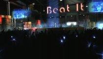 Michael Jackson: The Experience - Il palco di Beat It