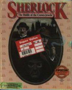 Sherlock: The Riddle of the Crown Jewels per Commodore 64