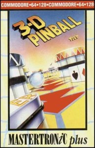 3-D Pinball per Commodore 64