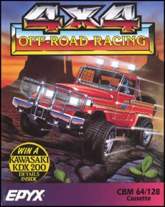 4x4 Off-Road Racing per Commodore 64