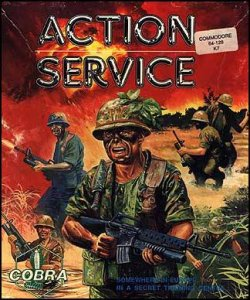Action Service per Commodore 64