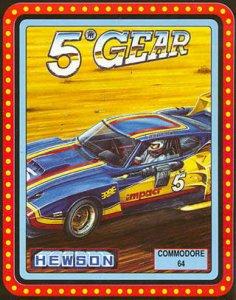 5TH Gear per Commodore 64