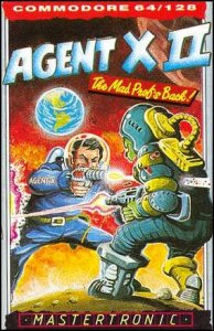 Agent X II: The Mad Prof's Back! per Commodore 64