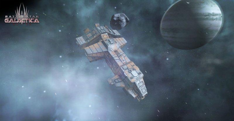 Grandi aspettative per Battlestar Galactica Online