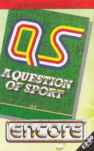 A Question of Sport per Commodore 64