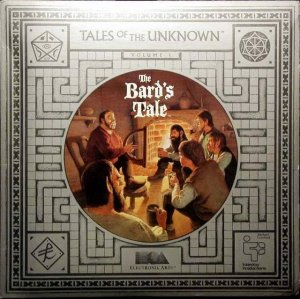 Tales of the Unknown: The Bard's Tale per Commodore 64