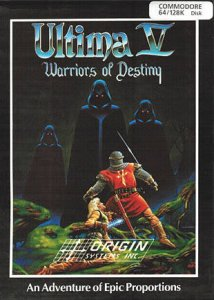 Ultima V: Warriors of Destiny per Commodore 64