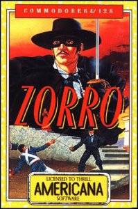 Zorro per Commodore 64