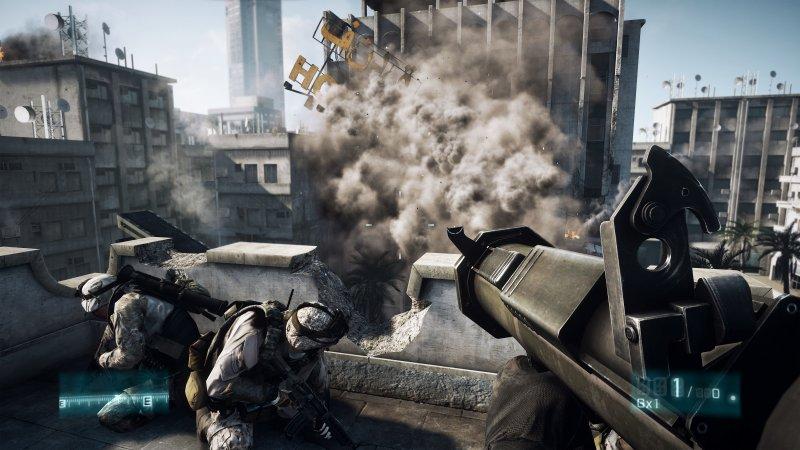 EA Summer Showcase - Battlefield 3 giocabile in multiplayer
