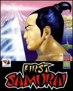 The First Samurai per Commodore 64