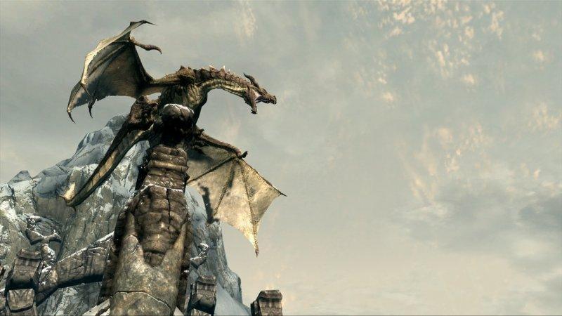 I draghi di Skyrim