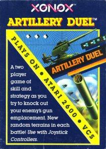 Artillery Duel per Atari 2600