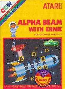 Alpha Beam With Ernie per Atari 2600
