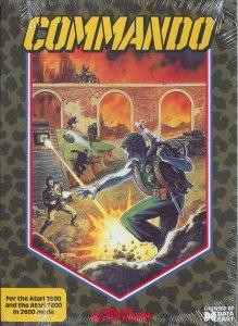 Commando per Atari 2600