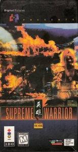 Supreme Warrior per 3DO