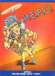 H.E.R.O. per Atari 2600