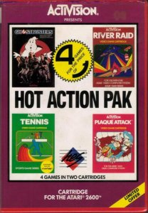 Hot Action Pack per Atari 2600