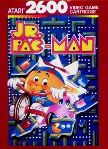 Jr. Pac-Man per Atari 2600