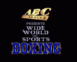 ABC Wide World of Sports Boxing per Amiga