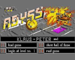 Abyss per Amiga