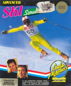 Advanced Ski Simulator per Amiga