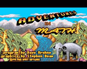 Adventures in Math per Amiga