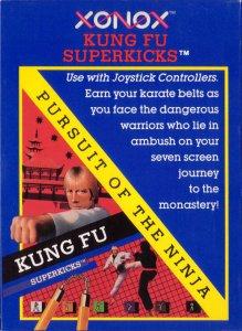 Kung Fu Superkicks: Pursuit of The Ninja per Atari 2600