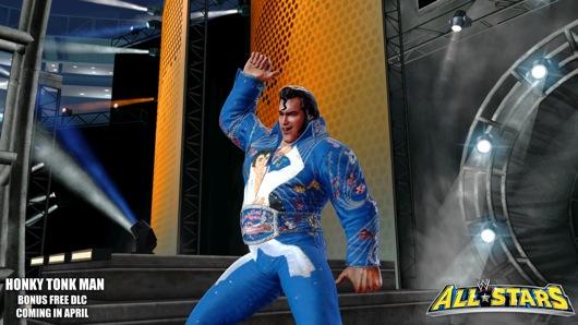 WWE All Stars - Honky Tonk Man disponibile su XBLA