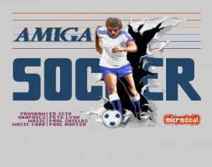 A-Soccer per Amiga