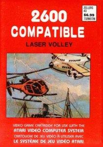 Laser Volley per Atari 2600