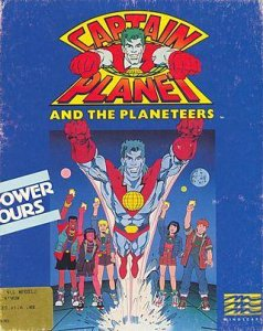 Captain Planet And The Planeteers per Amiga