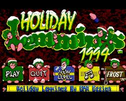 Christmas Lemmings 1994 per Amiga