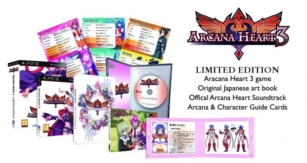Una data per Arcana Heart 3 in Europa ed edizione speciale