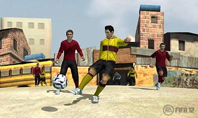 Fifa 12 ufficialmente annunciato per 3DS - Prime immagini