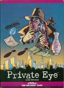 Private Eye per Atari 2600
