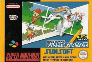 Bugs Bunny in Rabbit Rampage per Super Nintendo Entertainment System