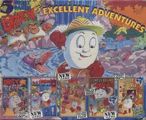 Dizzy's Excellent Adventures per Amiga