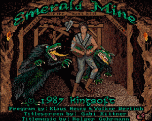 Emerald Mine per Amiga