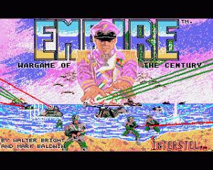 Empire: Wargame of the Century per Amiga