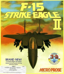 F-15 Strike Eagle II per Amiga
