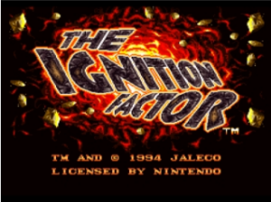 The Ignition Factor per Nintendo Wii