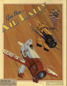 GeeBee Air Rally per Amiga