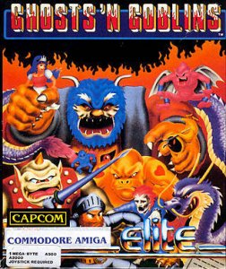 Ghosts'n Goblins per Amiga